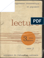 Lecture 3eme Annee Tome 2 - Algérie