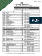 Grade 20101 - Engenharia de Produçao