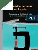 La prisión perpetua en España