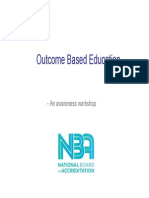 Outcome Based Education and Accreditation - A Presentation by NBA