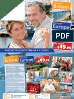 Yorkshire & North Derbyshire Brochure 2015