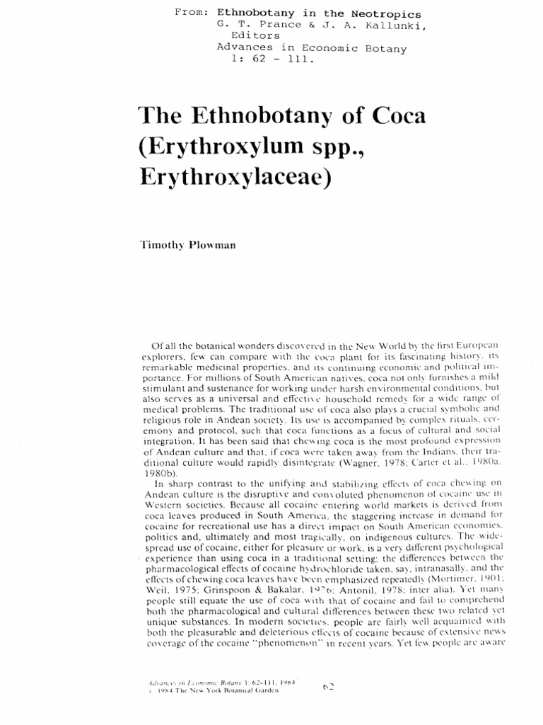 a description of ethnobotany and famous ethnobotanists in history Review of the great cacti: ethnobotany & biogeography david yetman 2007  yetman writes descriptions that flow f rom one topic to   and ethnobotanists wanting to work with columnar .