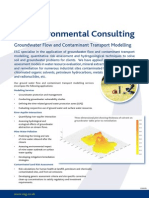DS0032b Ground Water Flow and Contaminant Model