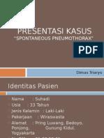Presentasi Kasus BTKV - Pneumothorax