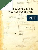 Documente Basarabene XX(1602-1814)
