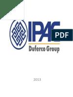 PRODUCTOS IPAC 2013