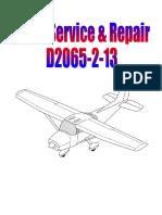 Cessna C172 Service & Repair Manual - 1977-85