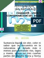Trabajo Naturaleza El Agua