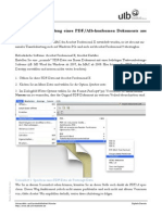 Anleitung PDF Pdfa