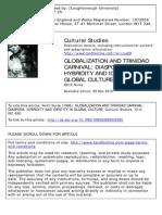 Globalization Diaspora Hybridity and Identity
