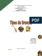 Tipos de Bronces