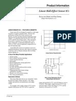 An27702 Linear Hall Effect Sensor ICs