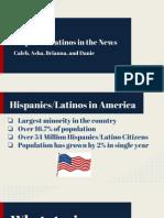 Hispanics & Latinos in the News