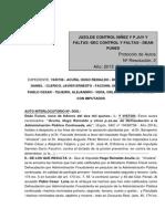 Corrupción en Dean Funes, Córdoba.