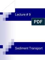 Sediment Transport Lec 9-11