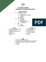 Lee-Davis HS - OLB Progression