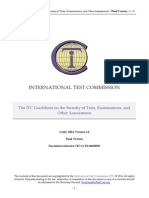 ITC Guideline - Test Security - V07b - 2014-07-06