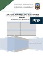 Evaluacion Del Comportamiento Del Concreto Con La Adicion de Particulas de Hierro de Arena de Duna