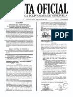 Gaceta Oficial Extraordinaria n 6171 10 de Febrero 2015