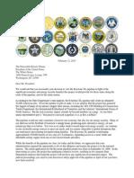GOP Governors Keystone Letter to President Obama