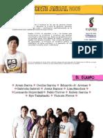 Reporte anual 2009 Espolea