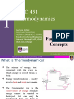 Chapter 1 Fundamental Concept Of Thermodynamics