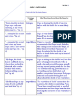 author's craft model worksheet