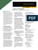 Science Education Program