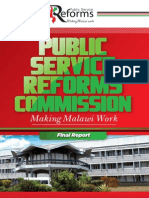Reforms Report