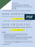 6ª Clase Geometria analitica