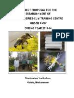 Orissa_Establishment of Bee Nursery Cum Training Centre1