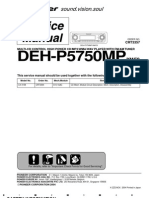 Pioneer Deh-p5750mp Service Manual