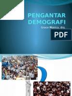 PENGANTAR DEMOGRAFI