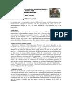 Chronique M. Réal Latreille oct. 09