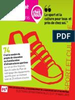 Départementales 2015 - Fiche Sport
