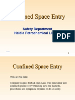 Confined Space Entry Hazards Tanks and Pits