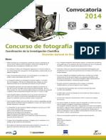 Convocatoria 2014 Fotos Ciencia
