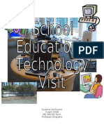 School Ed Tech Observation