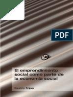 El emprendimiento social como parte de la Economía Social