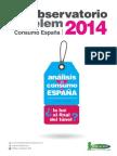 Observatorio Cetelem Consumo 2014. Evolucion mensual