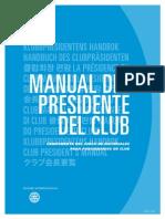 Manual Presidente