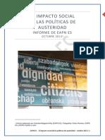 Informe Impacto Social Austeridad