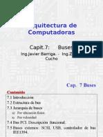 Buses arquitectura de computadoras