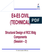 Ch1b-E4-E5 Civil-Structural Design of RCC Bldg Components Session -2 [Compatibility Mode]