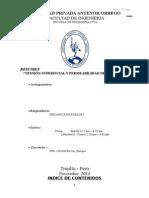 TENSIÓN SUPERFICIAL Y PERMEABILIDAD DE LOS SUELOS