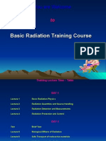 Basic Radiation Physics