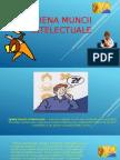 Igiena muncii intelectuale