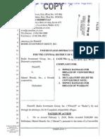 Bodie v Marani Complaint