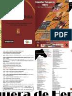 Programa Ecualtur 2012