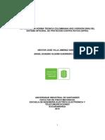 Estudio Ntc 4552 Sistema Integral de Proteccion Contra Rayos-sipra
